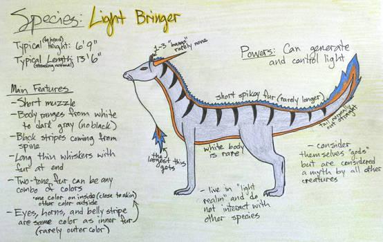 Light Bringer Species [Open]
