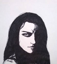 Amy Lee by Irisselion