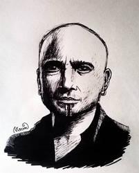 David Draiman by Irisselion