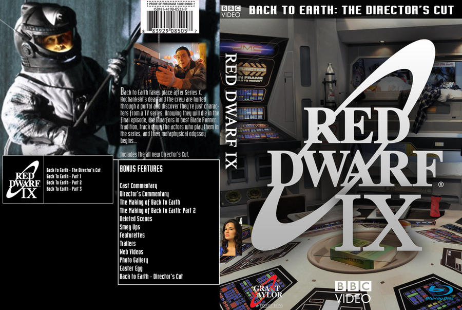 WANTED: Back to Earth DVD cover   Red Dwarf Forum