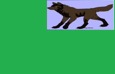 Blake in wolf form.(updated) by Alphajonesisimmortal