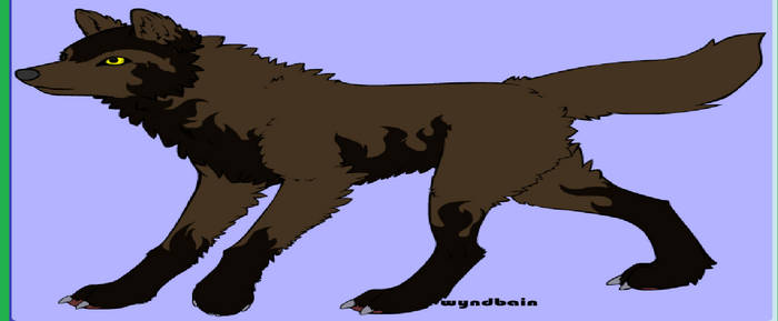 Blake in wolf form.(updated)