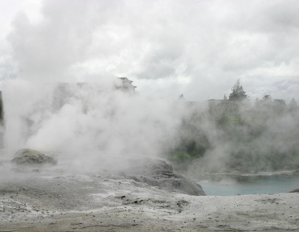 Volcanic Landscape 1 by Rivendell-PhotoStock