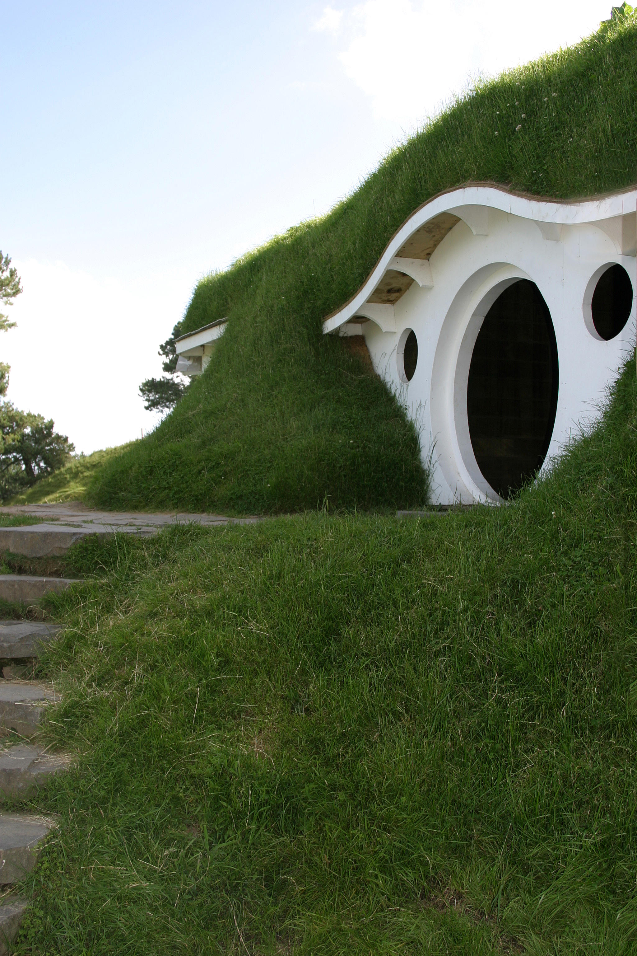 Hobbit Hole 1 by Rivendell-PhotoStock