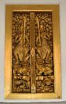 Temple warrior window