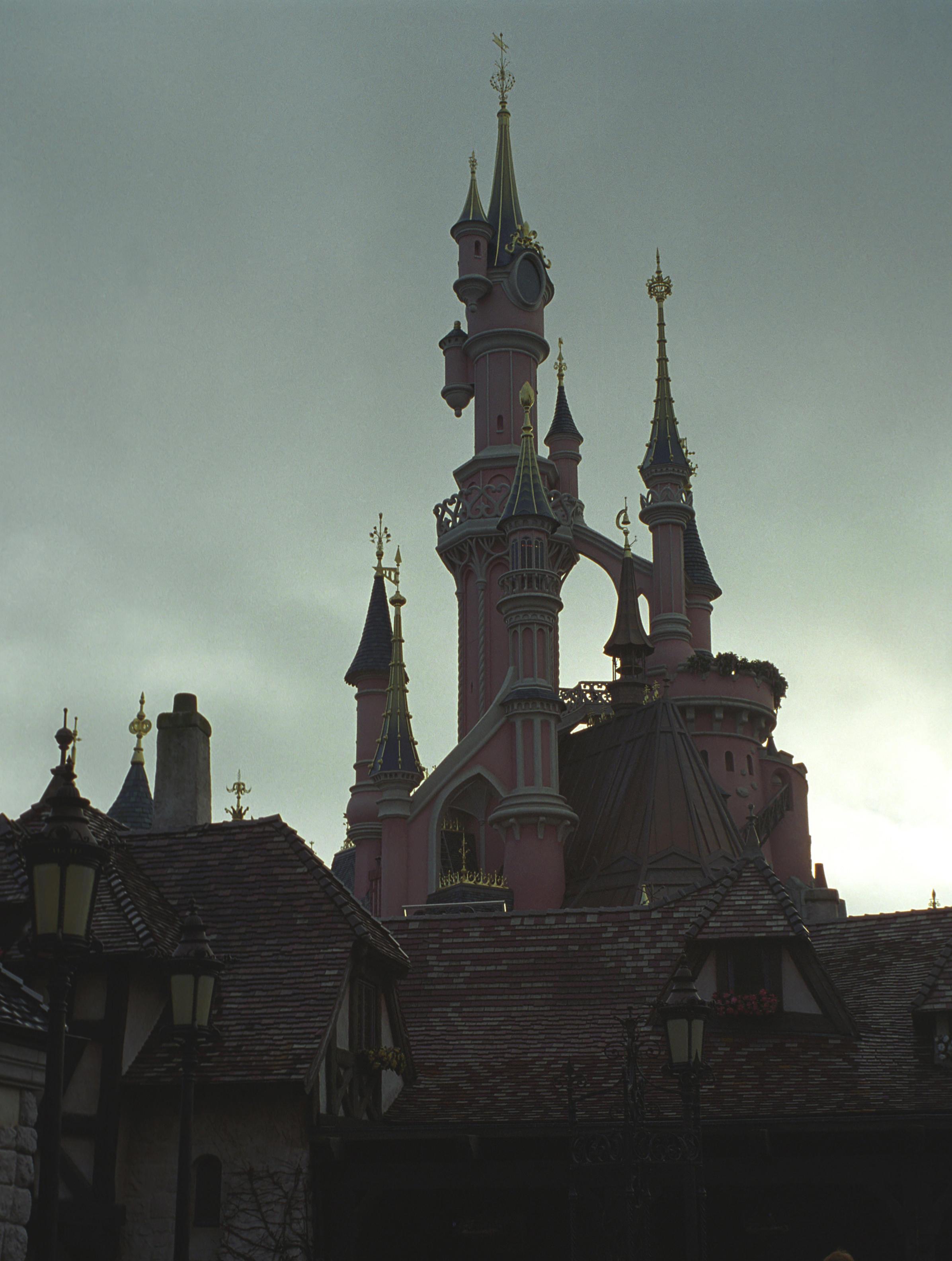 Sleeping Beautys castle by Rivendell-PhotoStock