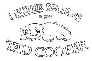 Galavant: I super believe in you Tad Cooper!