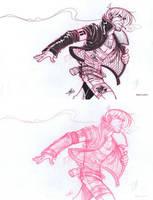 RECKLESS PRINT / TEASER Pencils and Inks_Sam Lotfi by slotfi
