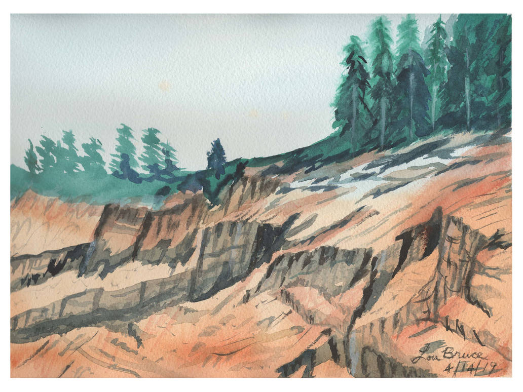 Landscape #2 Rocks by LuthiAir
