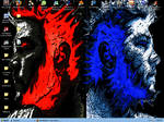 Fire and Ice Desktop