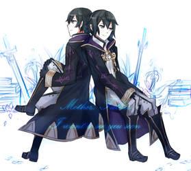Two Morgans by batensan