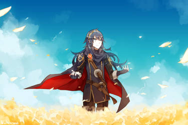Lucina And Flowers by batensan