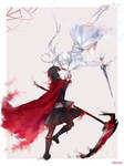 RWBY Red and White Rose