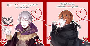 Fire Emblem: Henry and Gaius Valentines