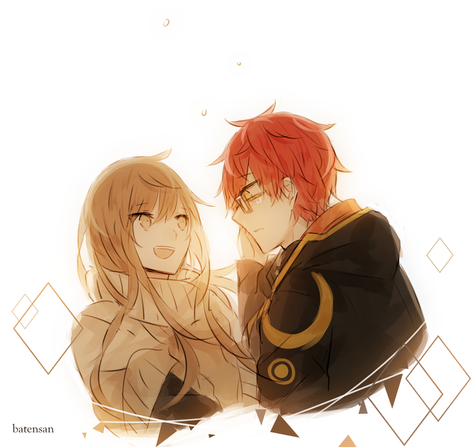 Mystic Messenger: Don't cry, Seven! by batensan
