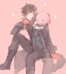 P5 And Kirb by batensan
