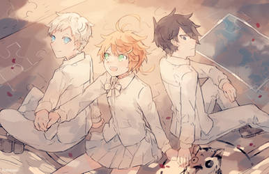 The Promised Neverland by batensan