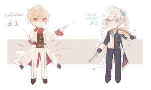 [OPEN] Auction/Adopts: Magician's Symphony by batensan