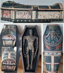 Mummy and Sarcophagus