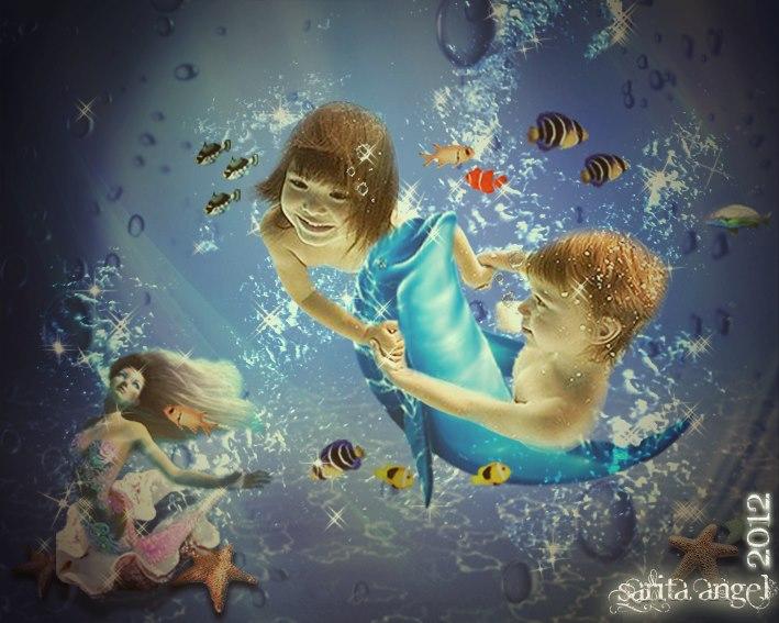 the beauty sea by saritaangel07