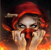 Burning by saritaangel07