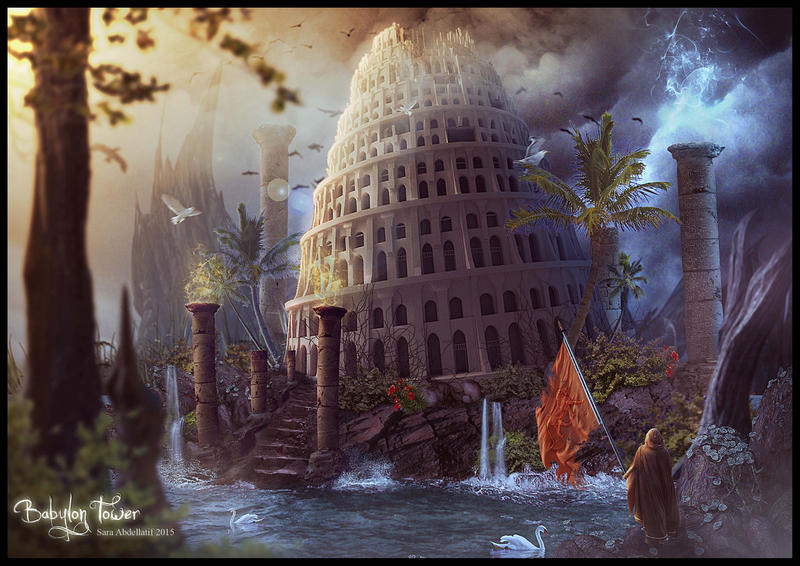 BABYLON TOWER by saritaangel07