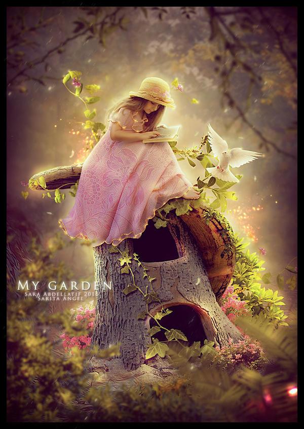MY GARDEN by saritaangel07