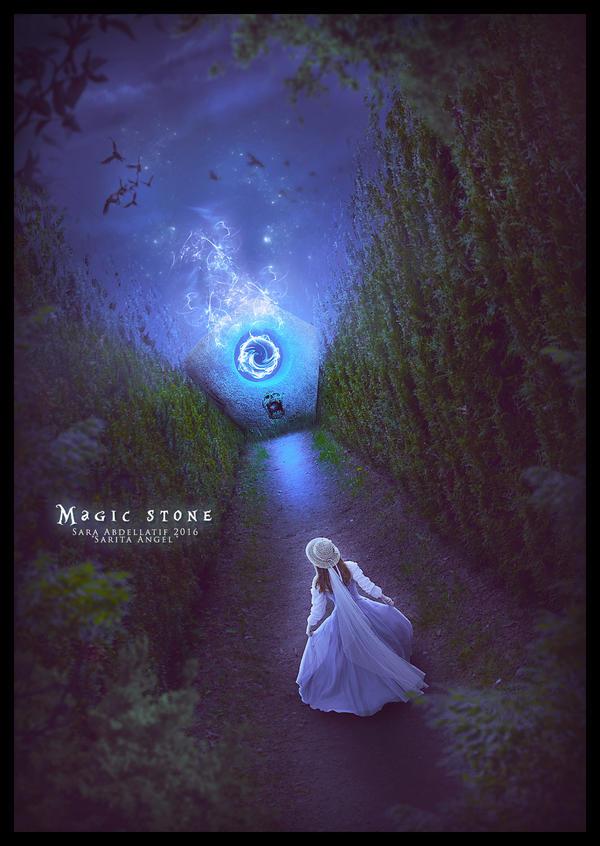 MAGIC STONE by saritaangel07