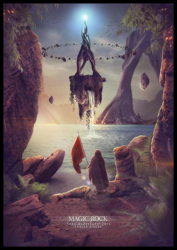 MAGIC ROCK by saritaangel07