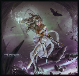 The Magic Wand by saritaangel07