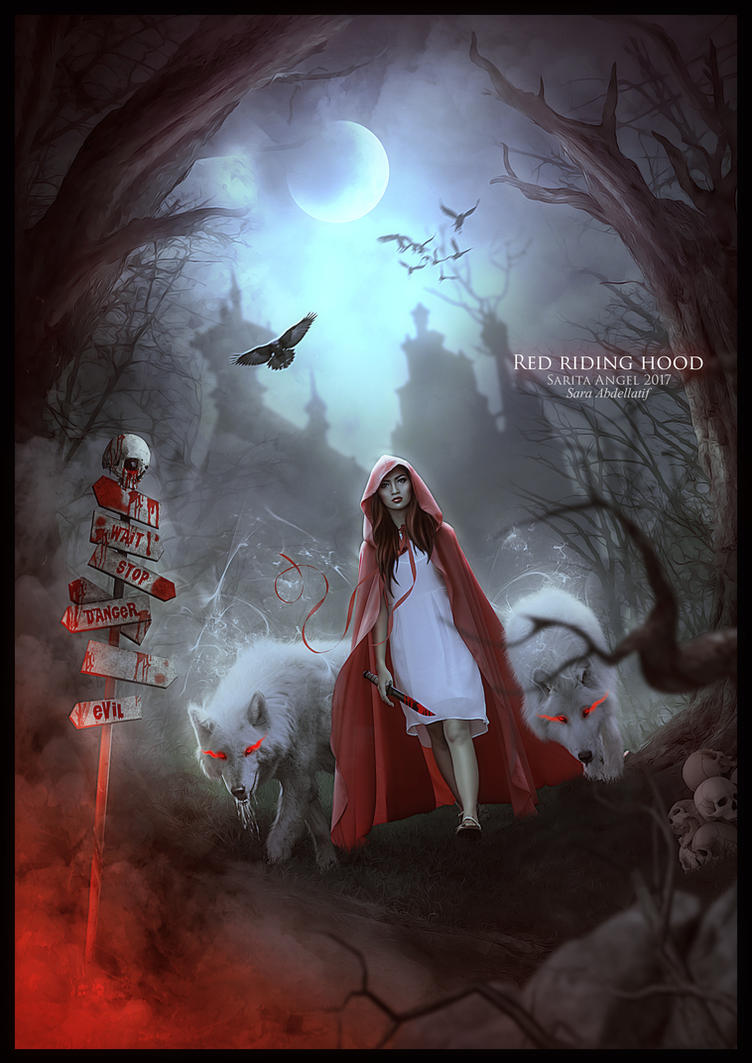 RED RIDING HOOD by saritaangel07 on DeviantArt