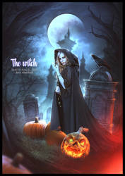 THE WITCH by saritaangel07