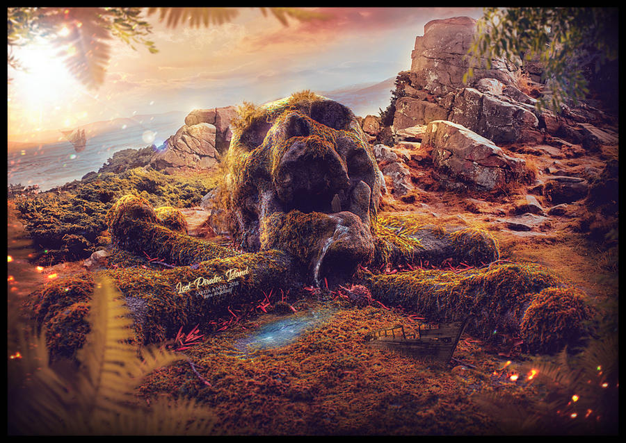 Lost Pirates Island by saritaangel07