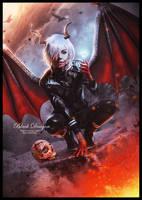 BLACK DRAGON by saritaangel07