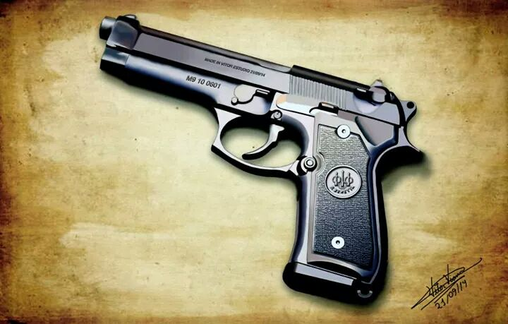 beretta m9 .9 mm by VitorViana