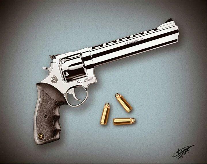 revolver taurus .44 magnum by VitorViana