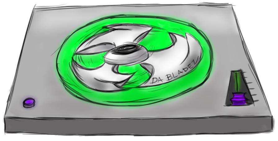 DA BLADEZ Logo Commission by dulciejackson