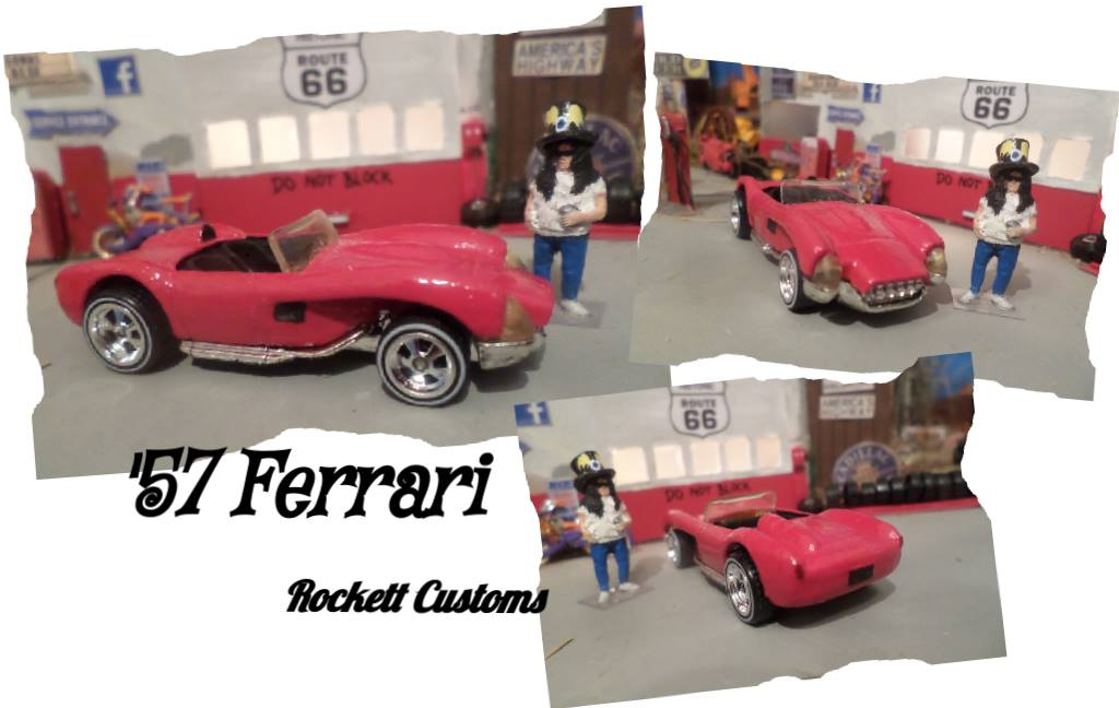 '57 Ferrari by Redd-Rockett