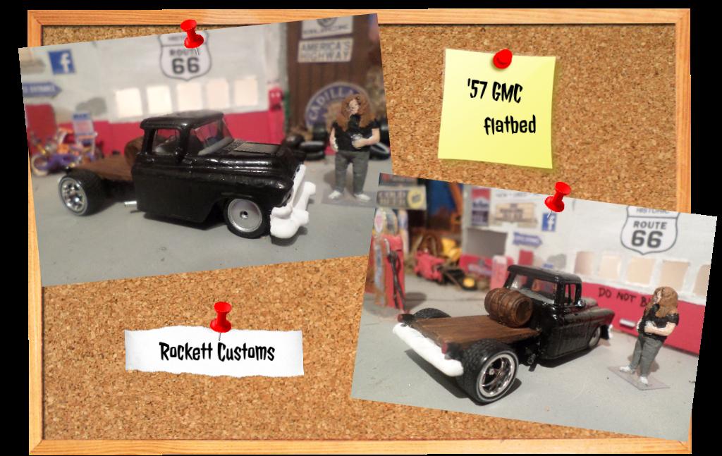 '57 GMC flatbed by Redd-Rockett