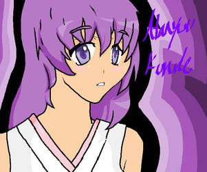 Hanyuu Furude on Paint by CandyCarpet