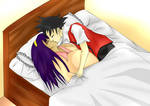ash and iris kiss-POKEMON