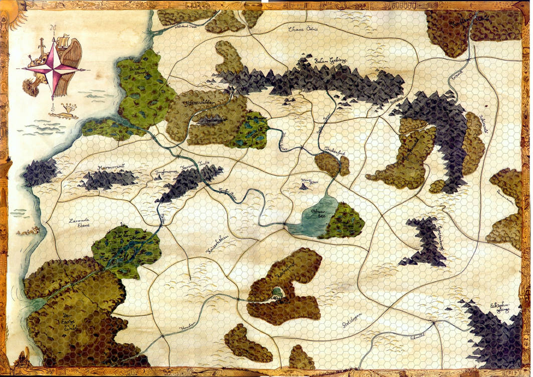 Warhammer Fantasy Campaign-Map by cosmopolit on DeviantArt