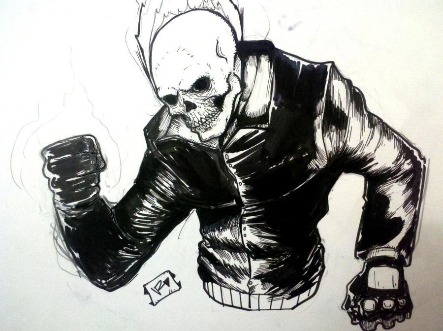Ghost Rider by Vvendetta77