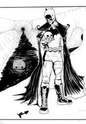 Batman Vs Killer Croc  by Vvendetta77