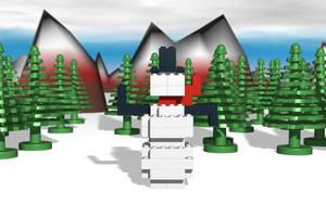 Snowman by SafePit