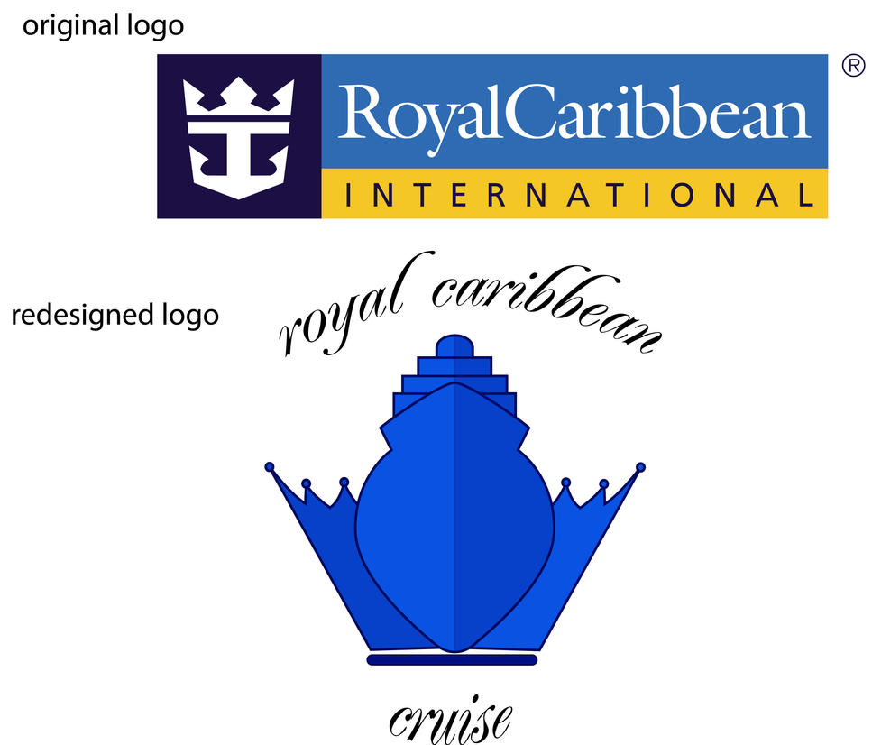 Royal Caribbean Cruise Logo By Emilychoochoo