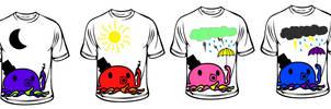 mr. tentacles tshirt designs by emilychoochoo