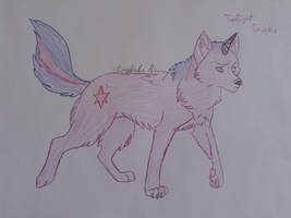 Twilight As A Wolf by Elisabeta999Rezac