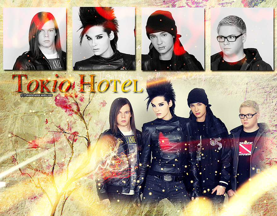 tokio hotel wallpaper by kaulitzway