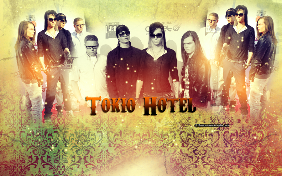 wallpaper hotel. hotel wallpaper. Tokio hotel wallpaper comet by